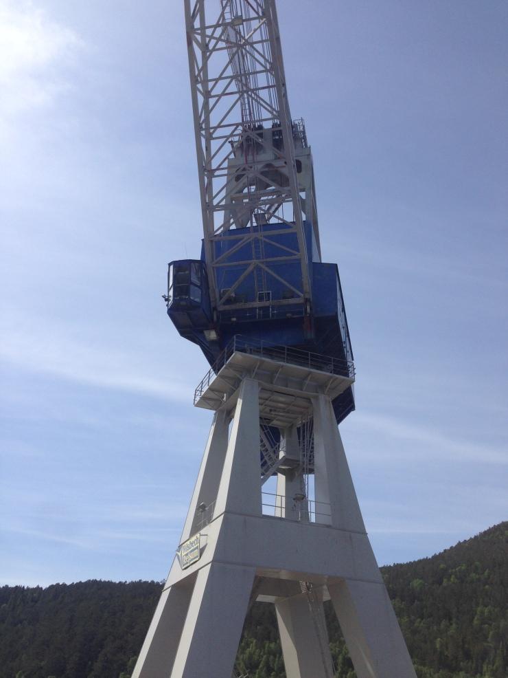 100 tonn G3 portalkran