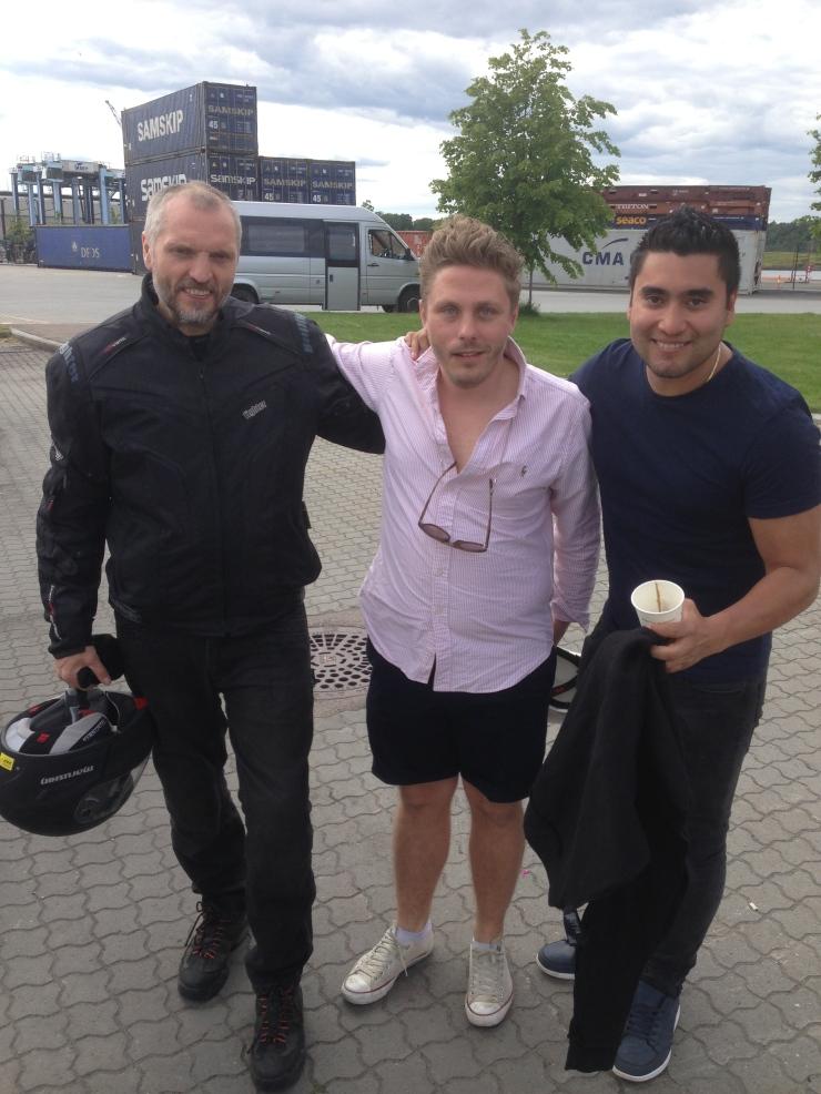 Svein, Morten og ivan