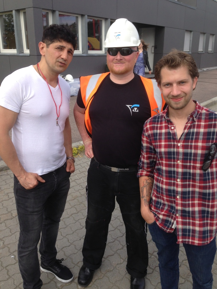 Pegman, Hans Are og Eivind