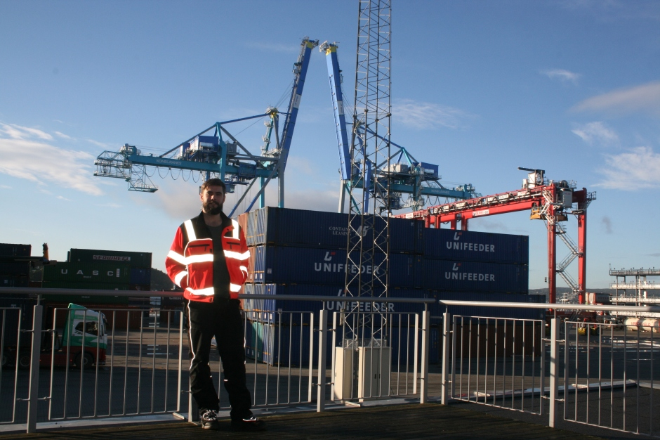 Me and the new cranes